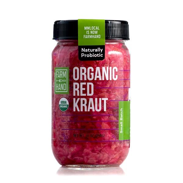 Farmhand Organics: Organic Red Kraut