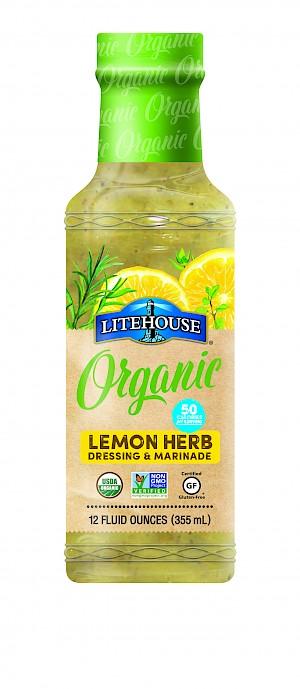Litehouse Organic Vinagrette Lemon Herb