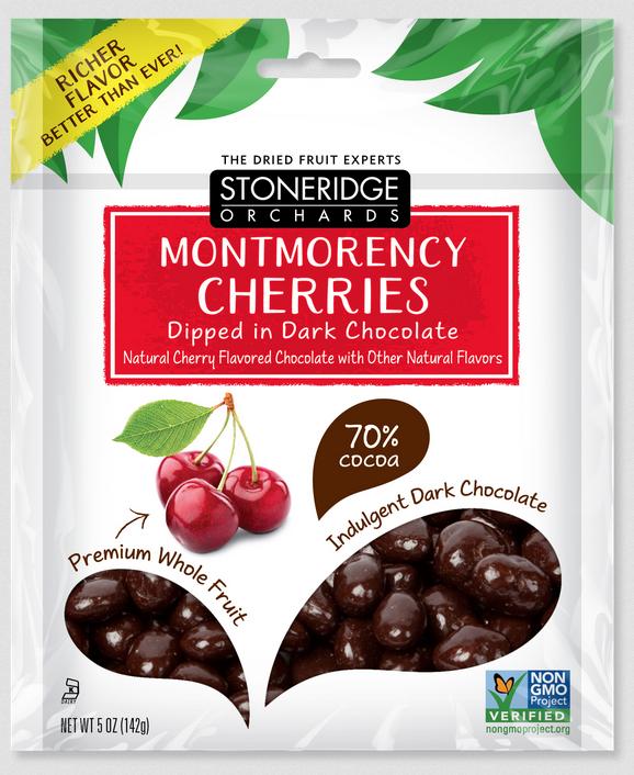 Stoneridge Orchards Montmorency Cherries Indulgent Dark Chocolate