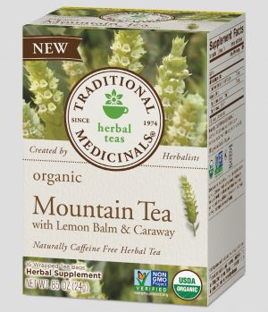 Traditional Medicinals Mountain Tea with Lemon Balm & Caraway