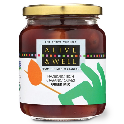 Alive and Well Olives: Greek Mix