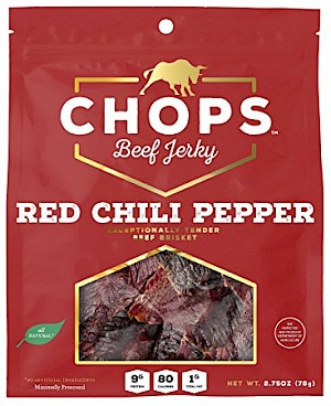Chops Red Chili Pepper Beef Jerky