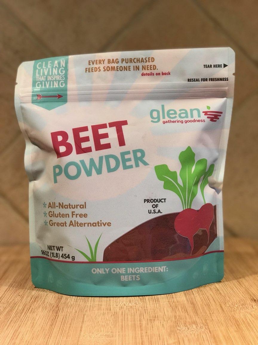 Glean: Beet Powder
