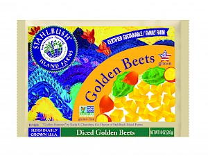 Stahlbush Island Farms Diced Golden Beets (Frozen)