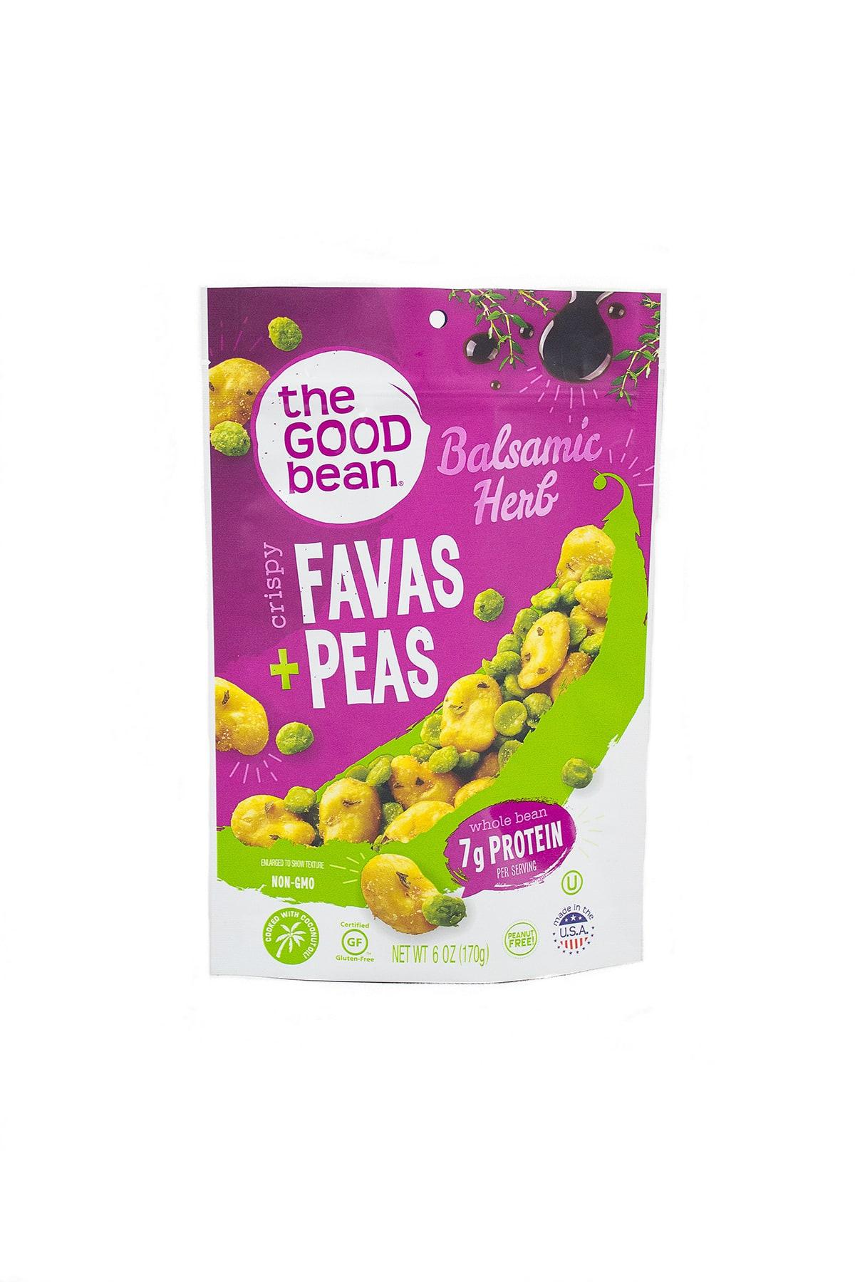 The Good Bean: Crispy Favas and Peas