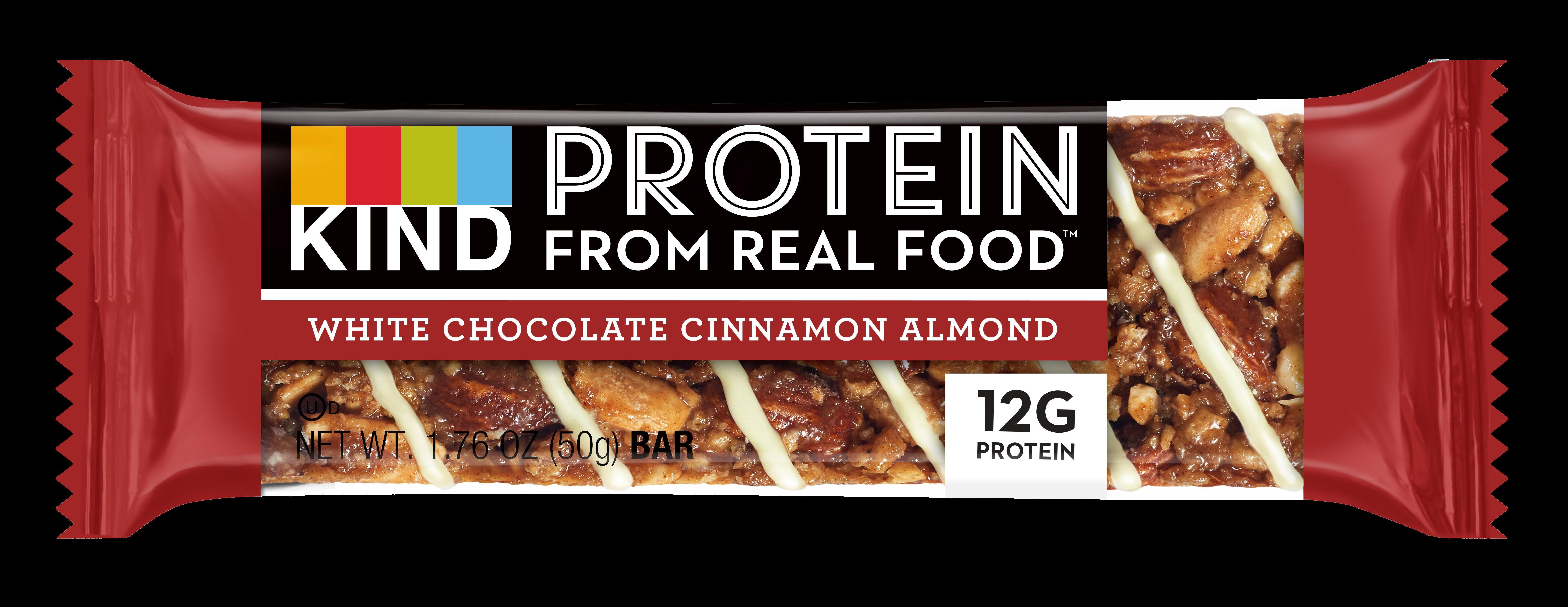 KIND Snacks Protein Bar White Chocolate Cinnamon Almond