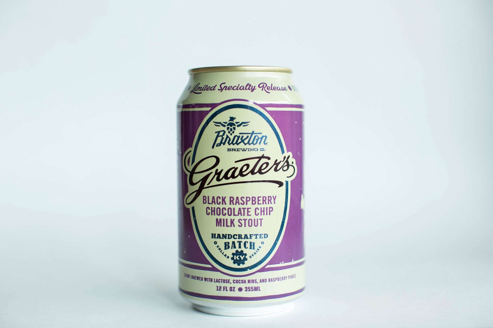 Braxton Brewing Co.: Graeter's Black Raspberry Chocolate Chip Milk Stout