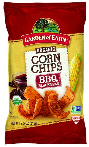 Garden of Eatin' Organic Corn Chips BBQ Black Bean