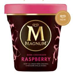 MAGNUM Ice Cream Dark Chocolate Raspberry