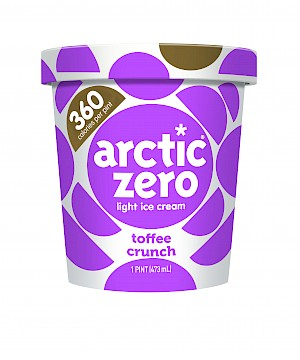 Arctic Zero Light Ice Cream Toffee Crunch