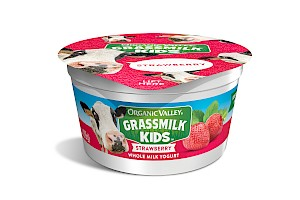 Organic Valley Grassmilk Kids Yogurt Cup Strawberry