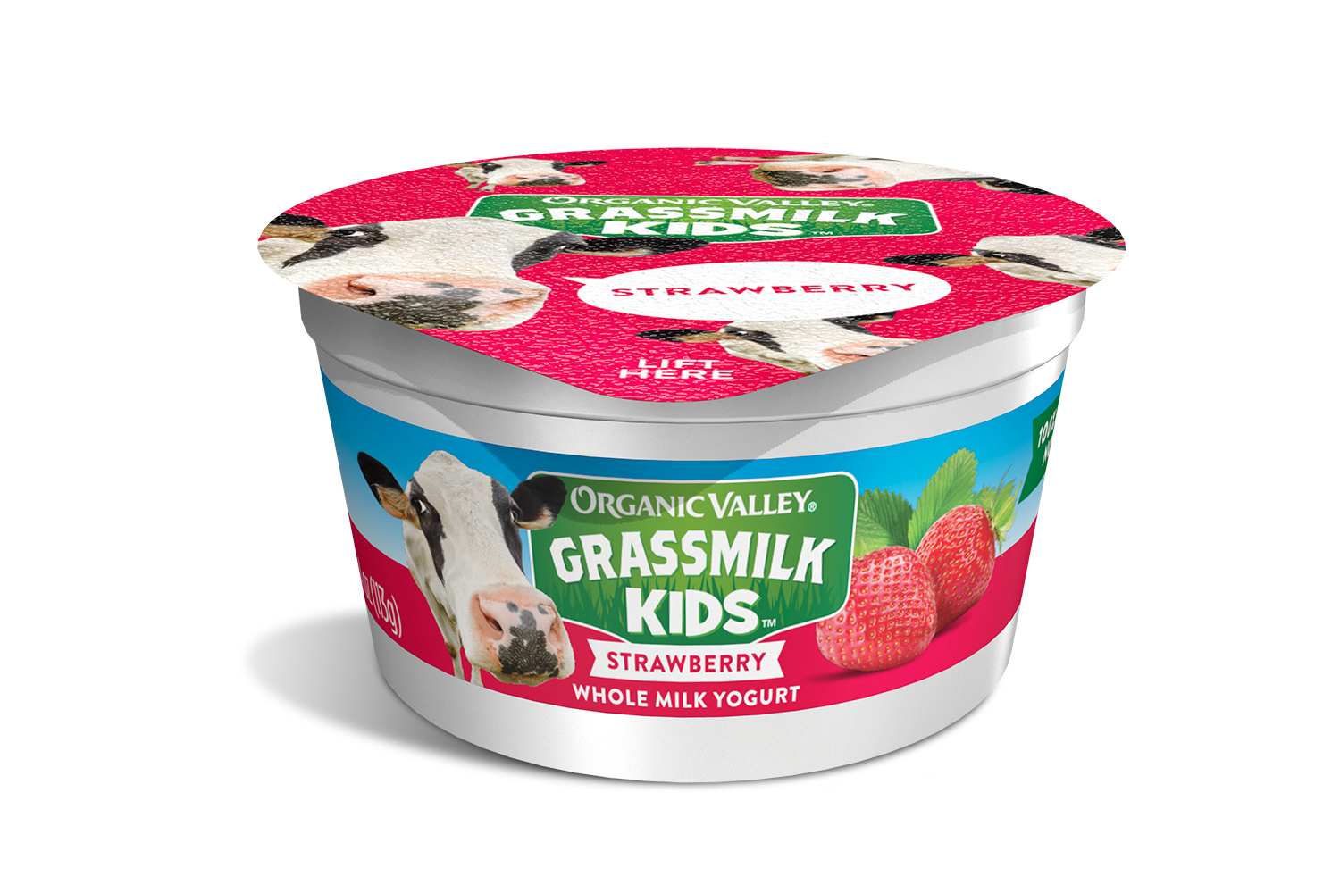 Organic Valley: Grassmilk Kids Yogurt Cup