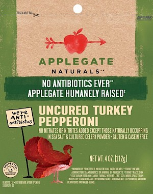 Applegate Uncured Pepperoni Turkey