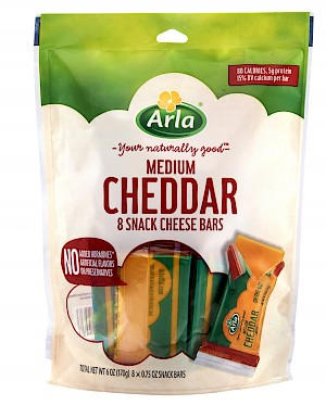 Arla Snack Cheese Medium Cheddar