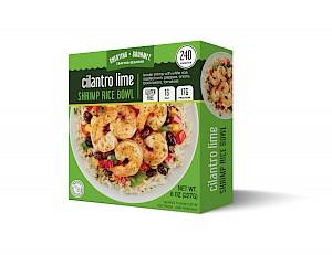 Cheating Gourmet Shrimp Rice Bowl Cilantro Lime