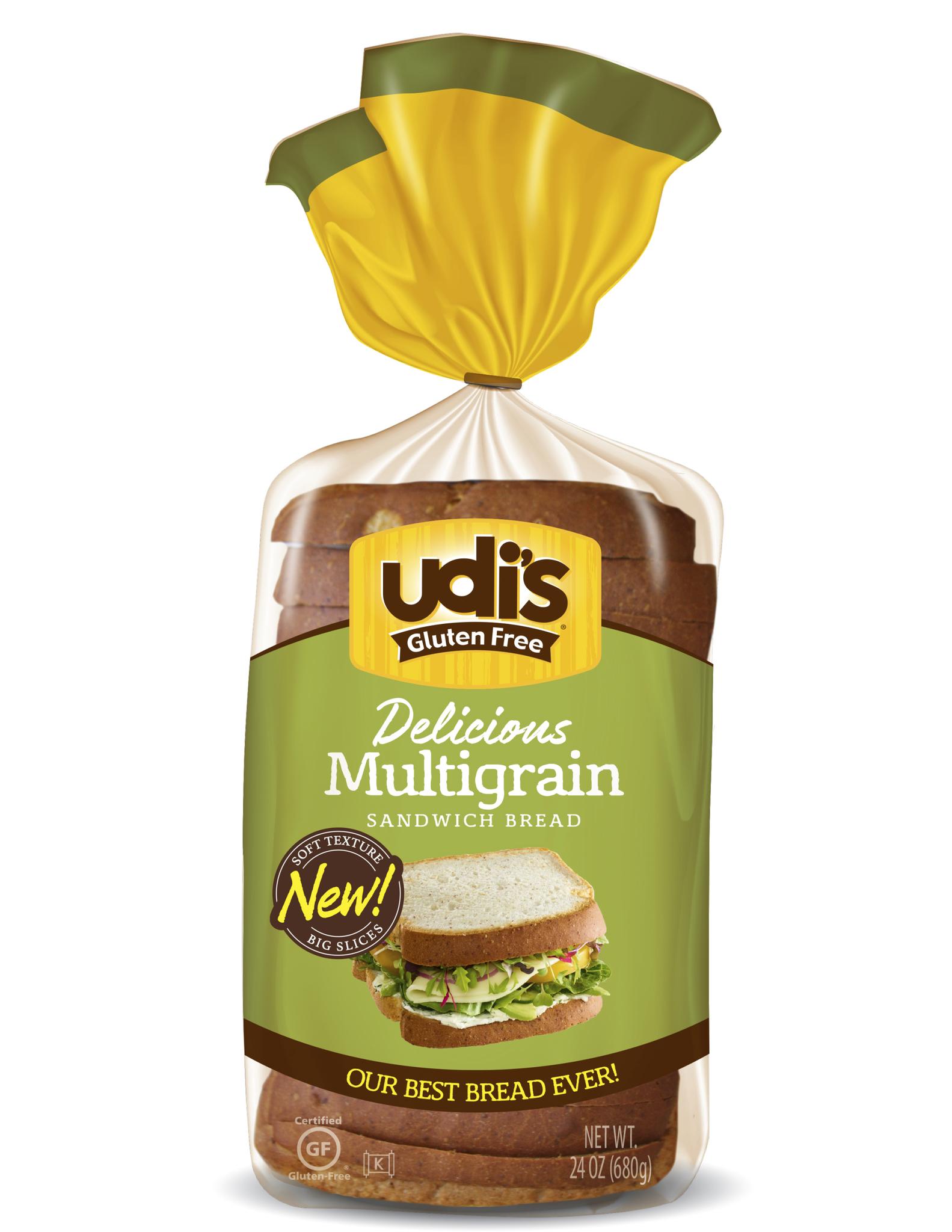Udi's Gluten Free Bread Multigrain