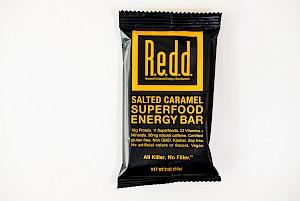Redd Bar Superfood Energy Bar Salted Caramel