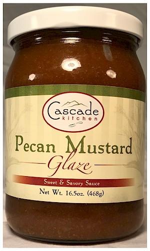 Cascade Kitchen Pecan Mustard Glaze
