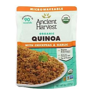 Ancient Harvest Organic Quinoa Chickpeas & Garlic