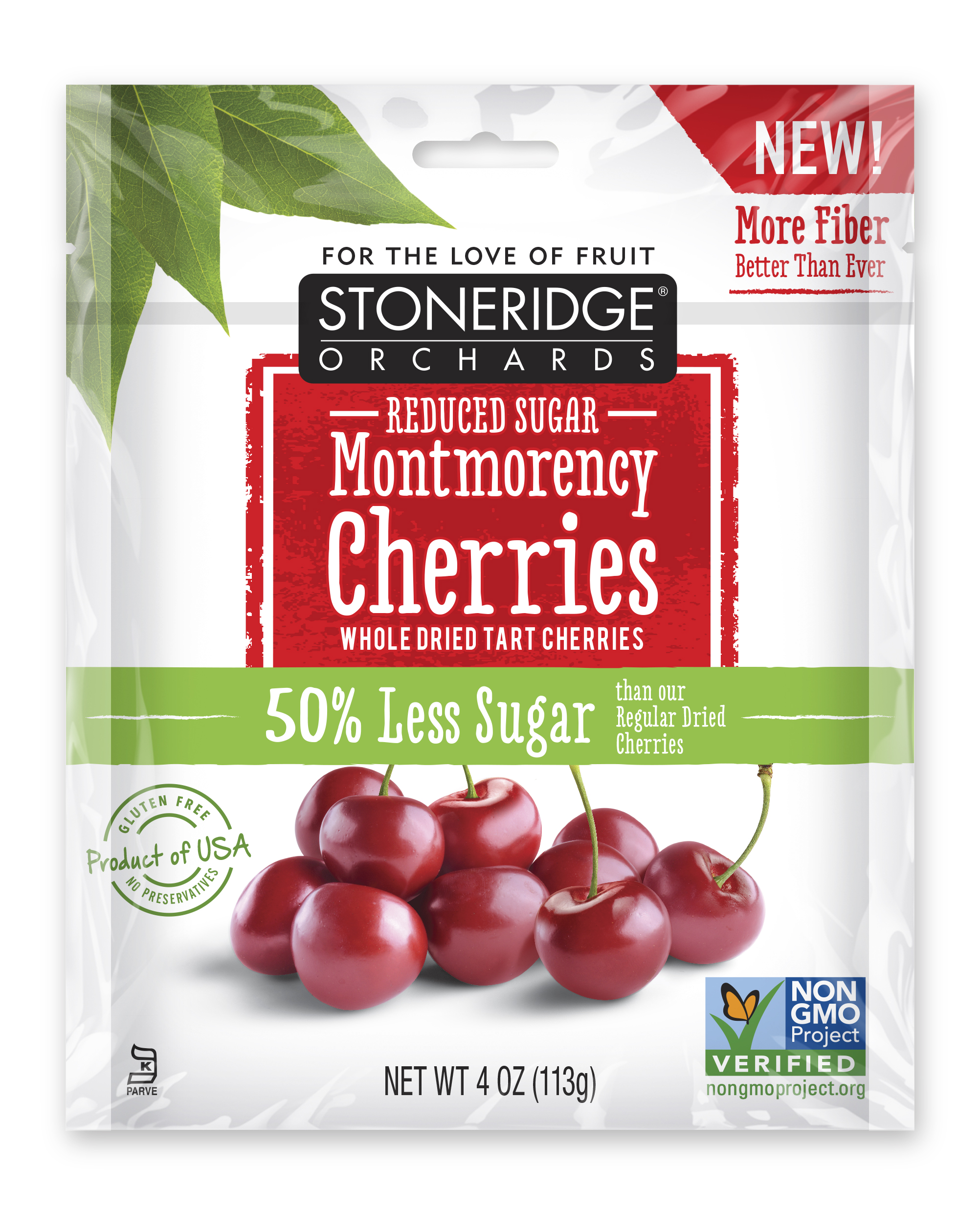 Stoneridge Orchards Reduced Sugar Montmorency Cherries
