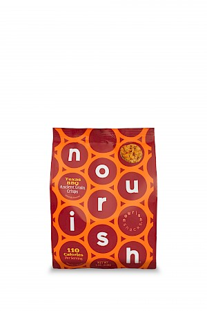 Nourish Snacks Ancient Grain Crisps Texas BBQ