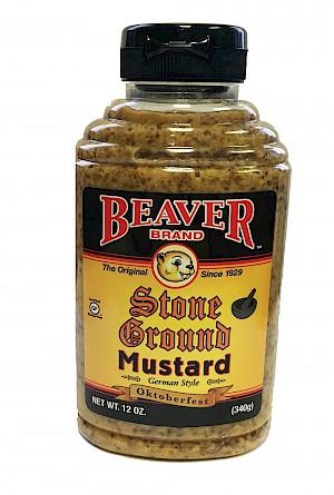 Beaver Brand Stone Ground Mustard German Style - Oktoberfest