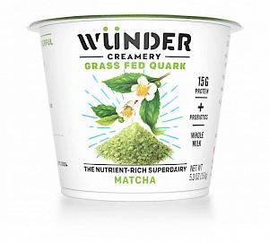 Wünder Creamery Grass Fed Quark Matcha