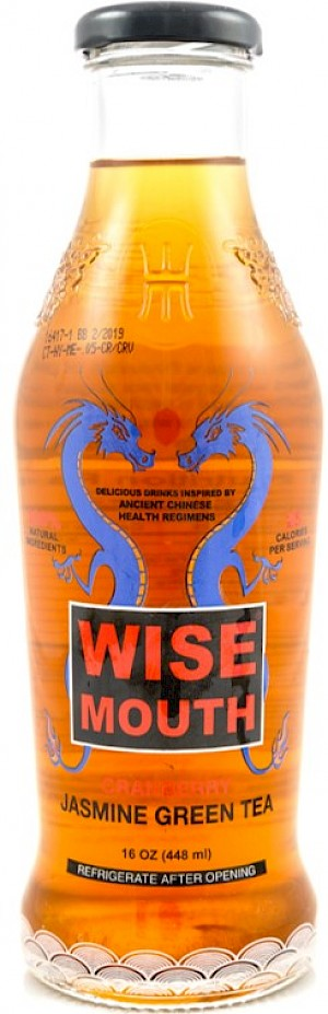 Wise Mouth Green Tea Cranberry Jasmine