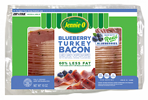 Jennie-O Blueberry Turkey Bacon