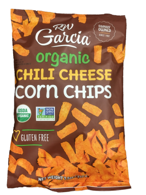 RW Garcia Organic Cheese Chips Chili Cheese