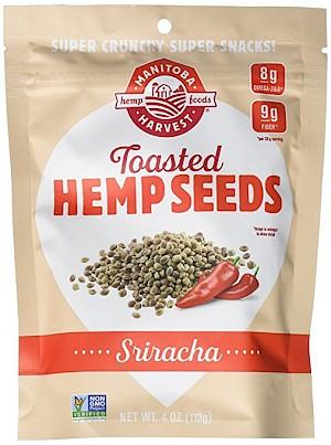 Manitoba Harvest Toasted Hemp Seeds Sriracha