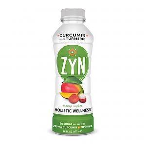 ZYN Curcumin (from Turmeric) Healthy Beverage Mango Lychee