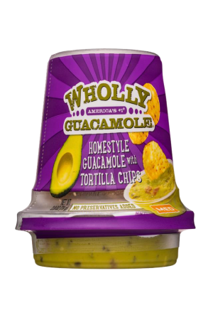Wholly Guacamole Snack Cup Homestyle Medium
