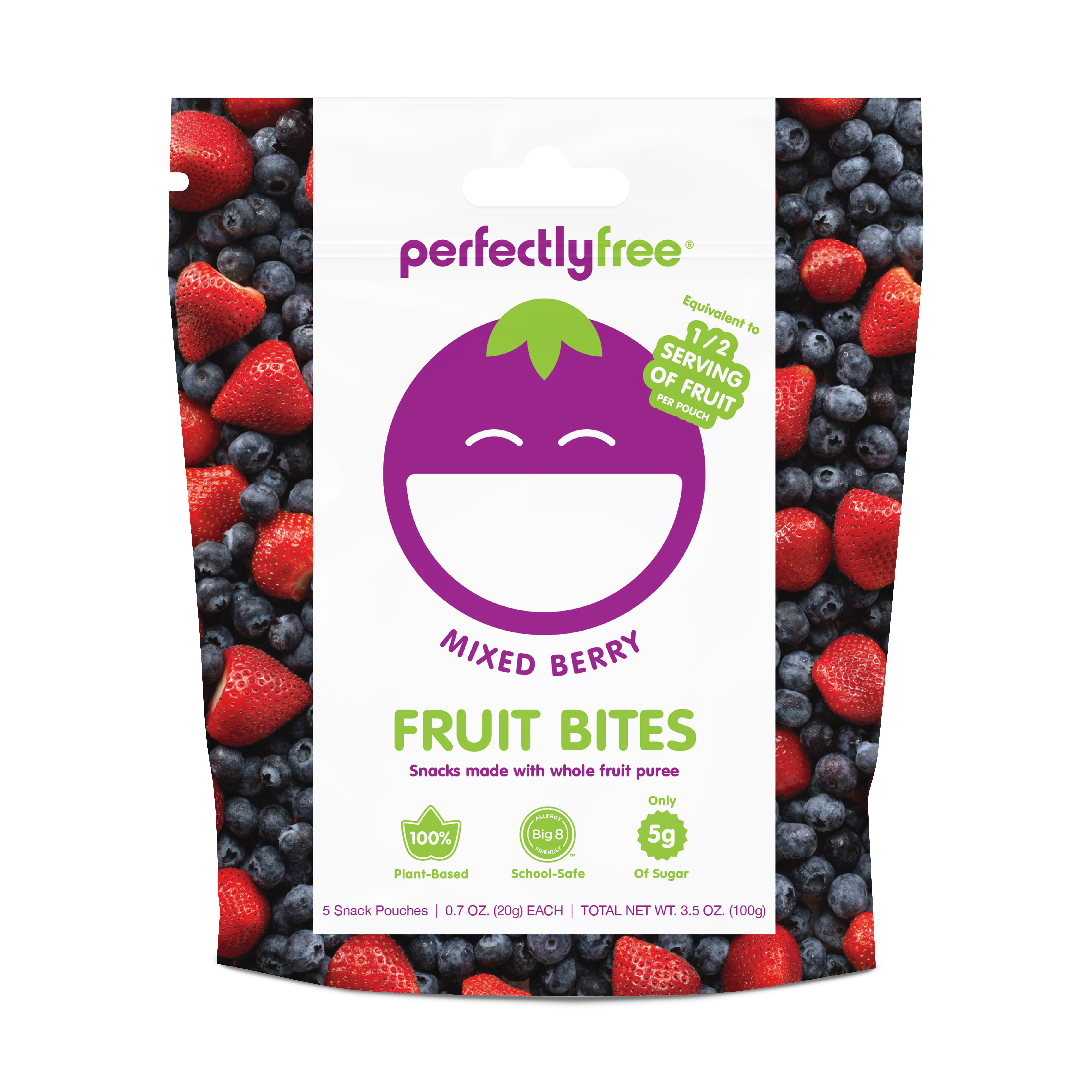 Perfectlyfree(r) Fruit Bites Mixed Berry