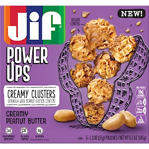 Jif Power Ups Creamy Clusters Creamy Peanut Butter
