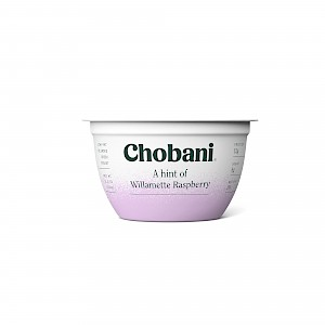 Chobani A Hint Of Willamette Raspberry
