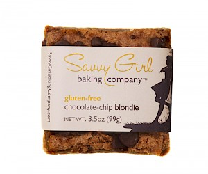 Savvy Girl Baking Company Gluten-Free Chocolate-Chip BLONDIE