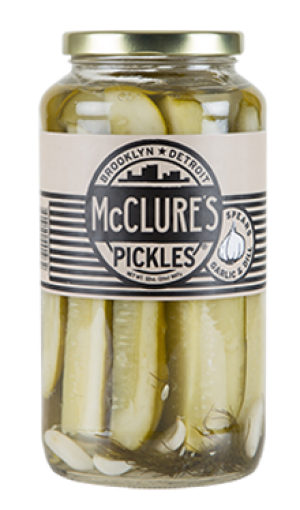 McClure's Pickles Garlic Dill