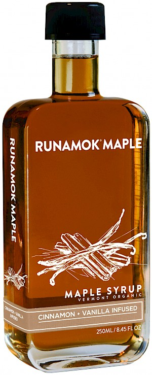 Runamok Maple Organic Maple Syrup Cinnamon + Vanilla Infused