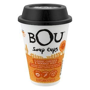 BOU Soup Cup Classic Chicken & Noodle Soup