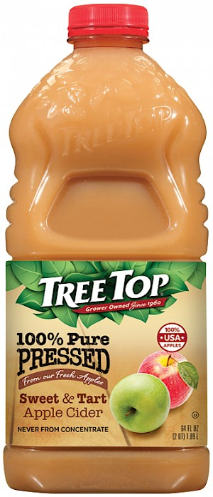 Tree Top 100% Pure Pressed Apple Cider Sweet & Tart